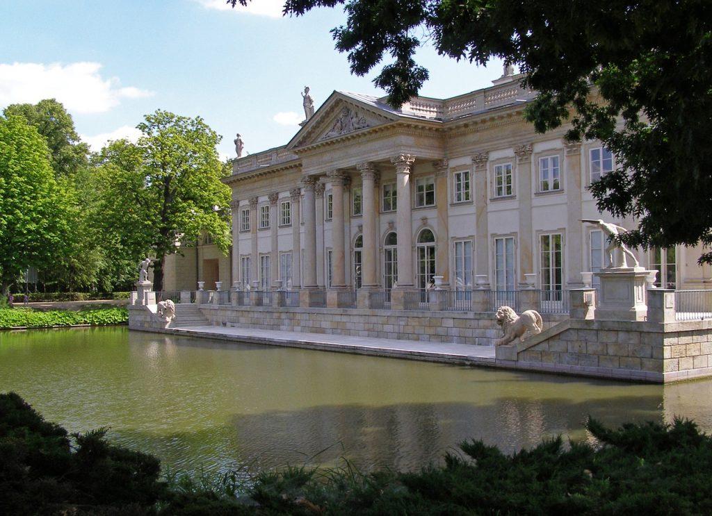 Baños reales en Varsovia