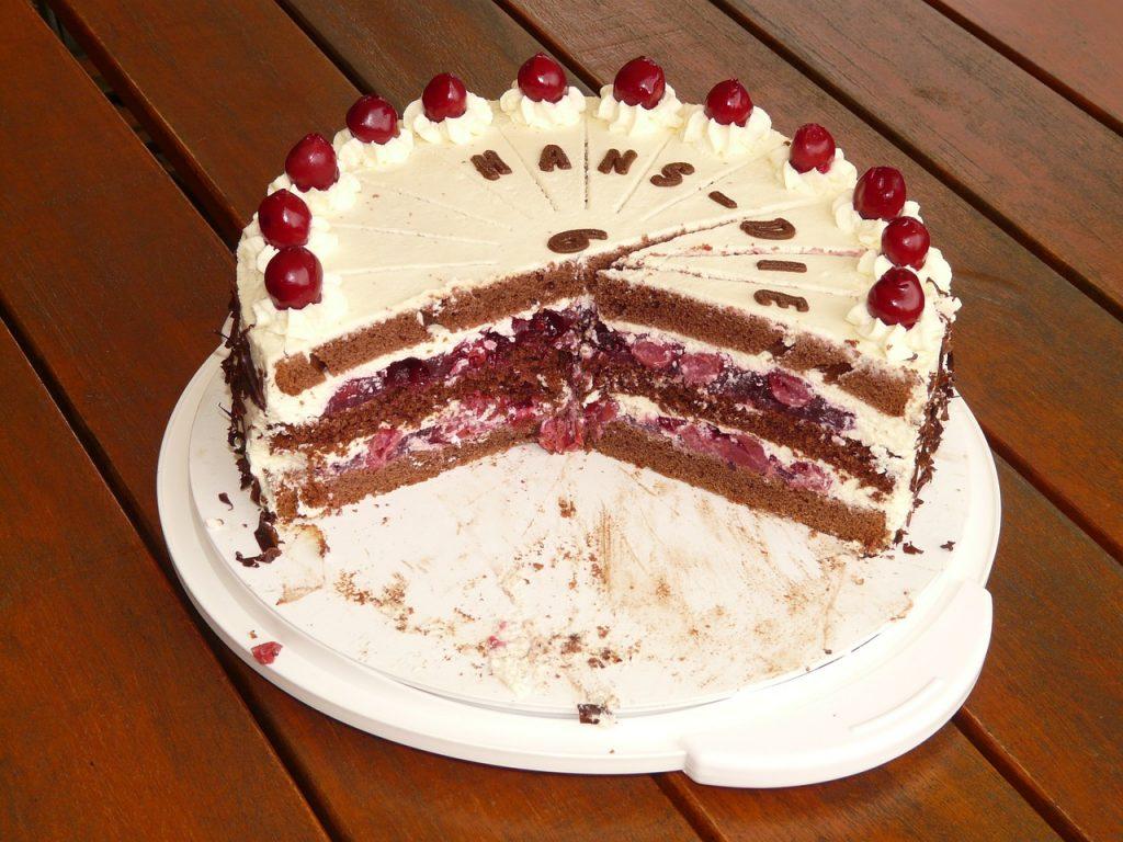 tarta de arandanos postre polaco