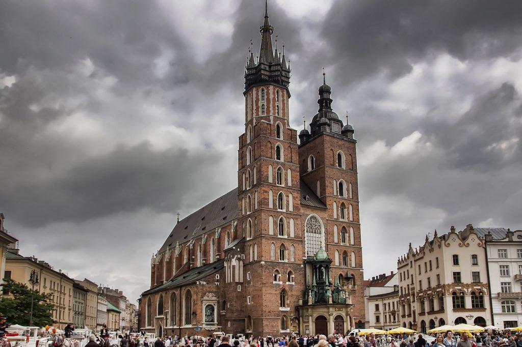iglesia santa maria cracovia