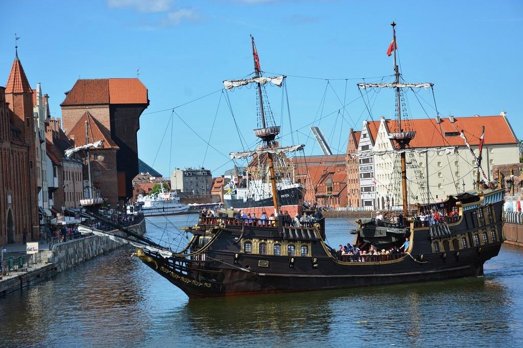 visitar gdansk barco