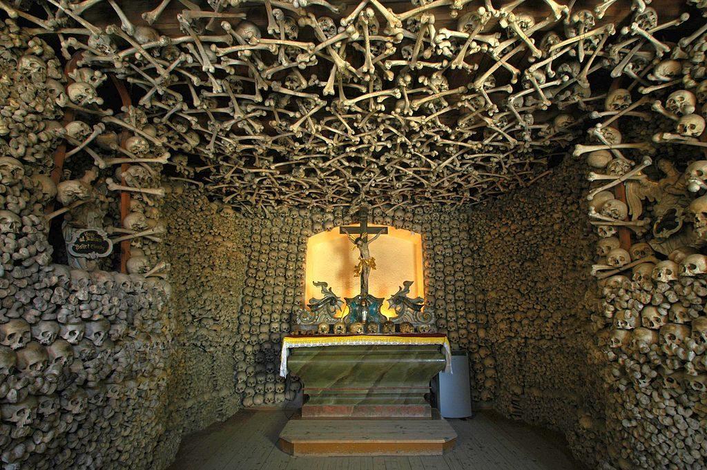 capilla de calaveras
