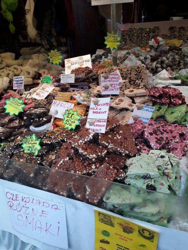 navidad cracovia chocolate