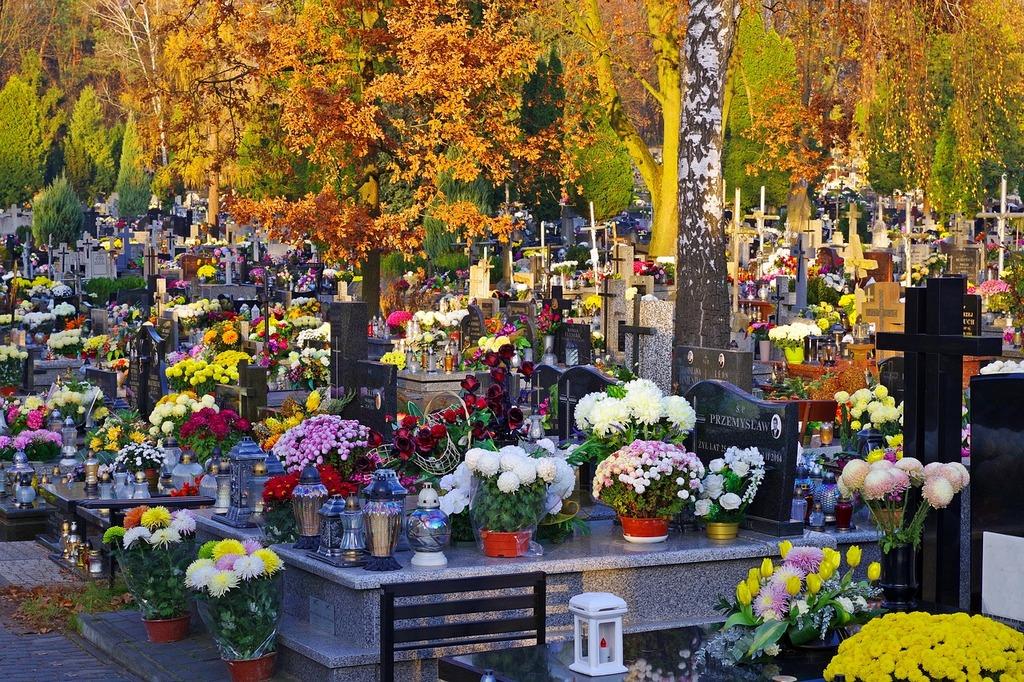 polonia cementerio dia de todos los santos
