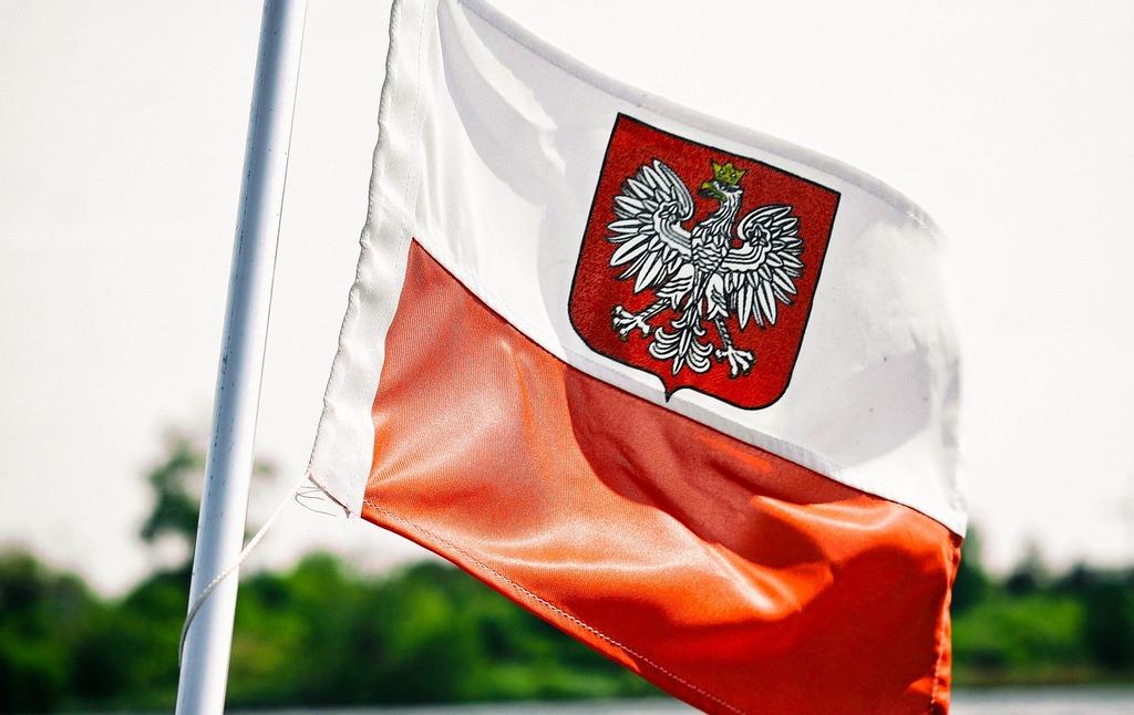 la bandera polaca