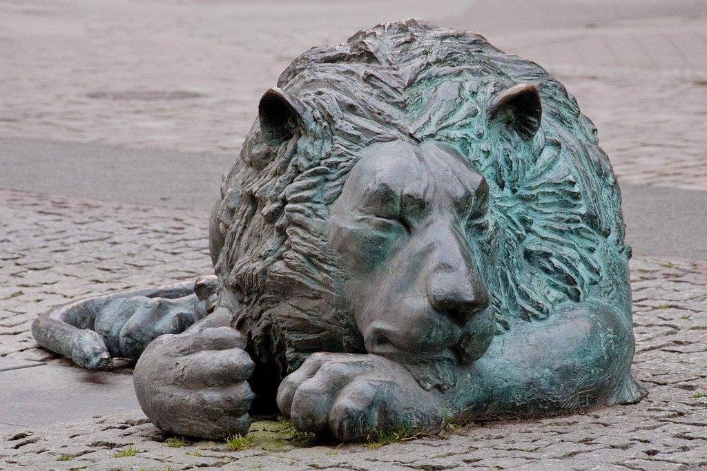 que ver en gdansk leones