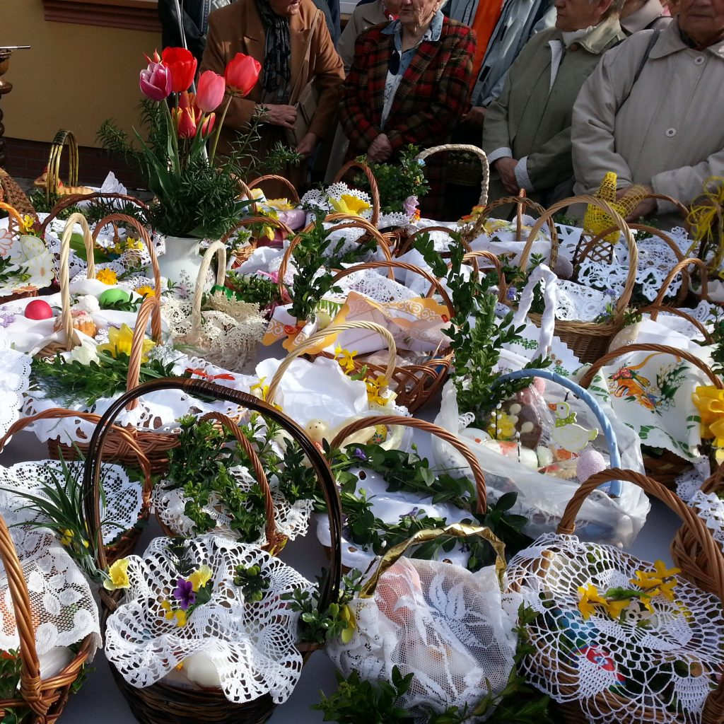 cestas de pascua en polonia